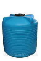 Пластиковая вертикальная емкость для хранения воды V-3000 на 3000 литров