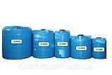 Вертикальна пластикова ємність для зберігання води V-5000 5000 літрів, фото 3