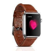 Ремешок для Apple Watch Classic Genuine Leather Series Watchband-42mm коричневый
