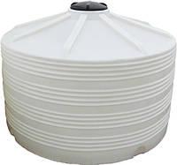 Пластиковая вертикальная емкость для хранения воды V-5001 на 5000 литров