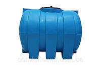 Пластиковая горизонтальная емкость на 500 литров G-500 для хранения гсм