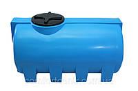 Пластиковая горизонтальная емкость на 500 литров G-505 для хранения гсм