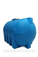 Пластиковая горизонтальная емкость на 1000 литров G-1000 для хранения гсм