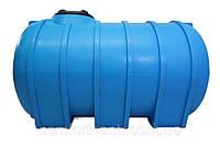 Пластиковая горизонтальная емкость G-2000 на 2000 литров для хранения гсм
