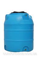 Пластиковая вертикальная емкость V-300 на 300 литров хранения гсм