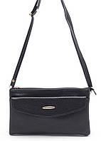 Небольшая черная женская сумка-барсетка FUERDANI art. 558 , фото 1