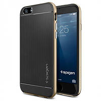 Чехол SGP Spigen Neo Hybrid Carbon iPhone 5 Gold