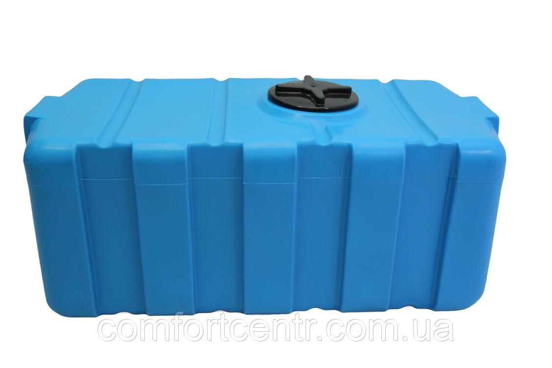 Пластиковая прямоугольная емкость на 300 литров SG-300 для пищевой промышленности