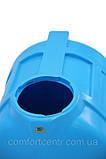 Пластиковая горизонтальная емкость на 150 литров G-150 для хранения токсических веществ, фото 2
