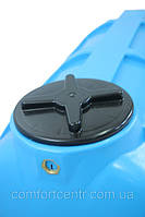 Пластиковая горизонтальная емкость на 250 литров G-250 для хранения токсических веществ
