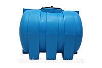 Пластиковая горизонтальная емкость на 500 литров G-500 для хранения токсических веществ