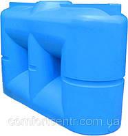 Пластиковая квадратная емкость на 2000 литров B-2000 для хранения токсических веществ