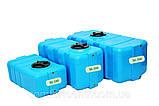Пластиковая прямоугольная емкость на 300 литров SG-300 для хранения токсических веществ, фото 5