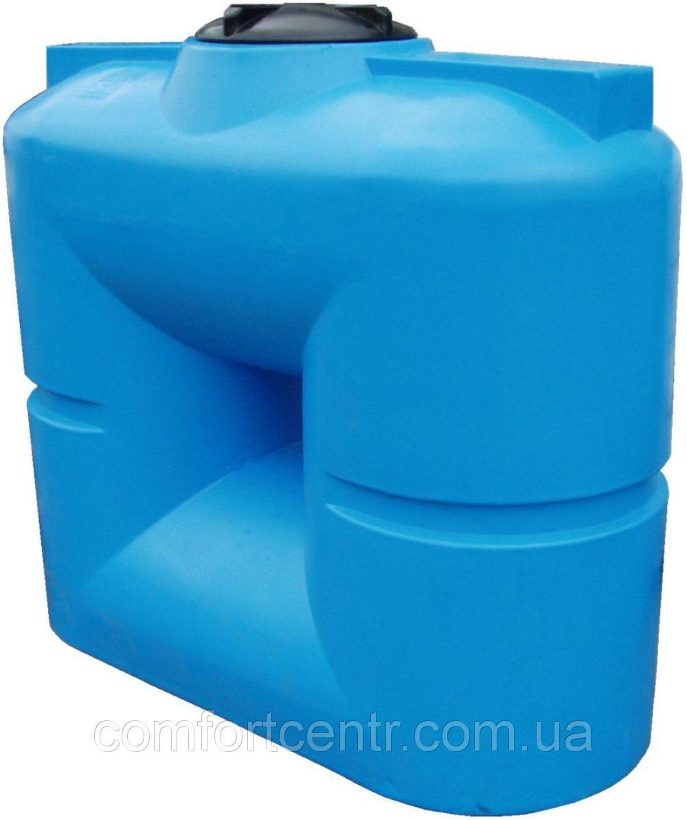 Пластиковая квадратная емкость на 1000 литров B-1000 хранения токсических веществ