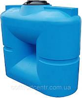 Пластиковая квадратная емкость на 1000 литров B-1000 хранения токсических веществ, фото 1
