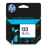 Картридж струйный HP 123 Color (F6V16AE)