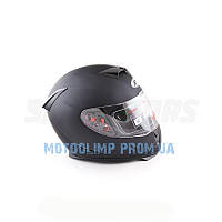 Шлем интеграл с очками Ataki FF311 Solid черный матовый