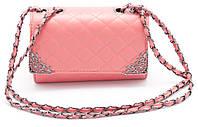 Стильная женская розовая сумоччка Б/Н art. 1002-4, фото 1