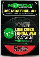 ПВА-сетка Korda PVA на шпуле Long Chuck HEXMESH 5m