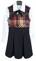 Сарафан школьный детский № 313 - KF 09C +D 31