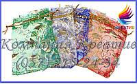 Подарочные мешочки из сетки, органзы, шифона (под заказ от 100-500 шт.)