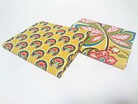 Ткань для пэчворка 40х50 в упаковке 2 шт хлопок