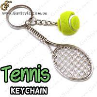 "Брелок Теннисная ракетка - ""Tennis Keychain"""
