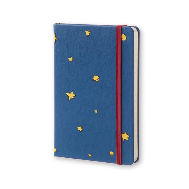 Блокнот Moleskine Le Petit Prince | Карманный Синий в Линейку