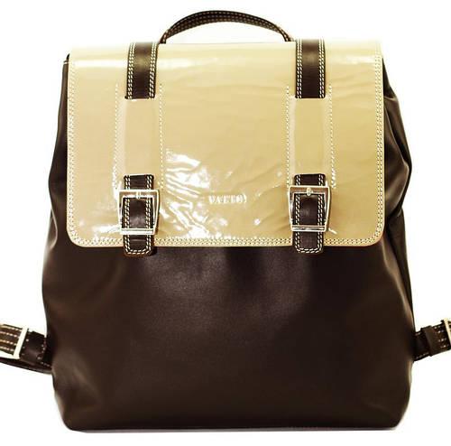 Очаровательный женский рюкзак на 10 л. натуральная кожа VATTO Wk26 Kaz400L5 бежевый