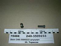 Болт штуцера (пр-во ММЗ), 240-3509233