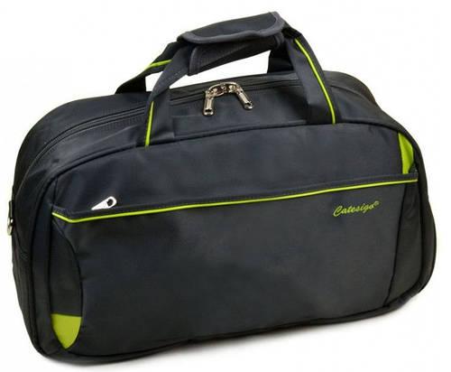 Дорожная вместительная сумка-саквояж из нейлона 37 л.  22806 22 Big grey (серый)