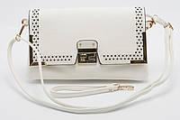 Красивая белая женская сумка LITTLE PIGEON art. 482837-1, фото 1