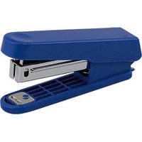 Степлер пластиковый (плоский) JOBMAX 10 листов скобы №10 синий (BM.4101-02)