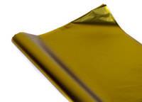 Золотая матовая плёнка полисилк