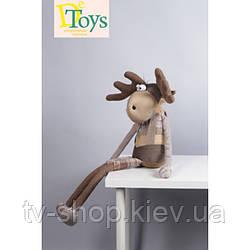 Игрушка дизайнерская олень  GASPAR / ГАСПАР ,100 см