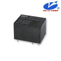 HLS-T72 РЕЛЕ  (12VDC) струм-10A / контакти-1С