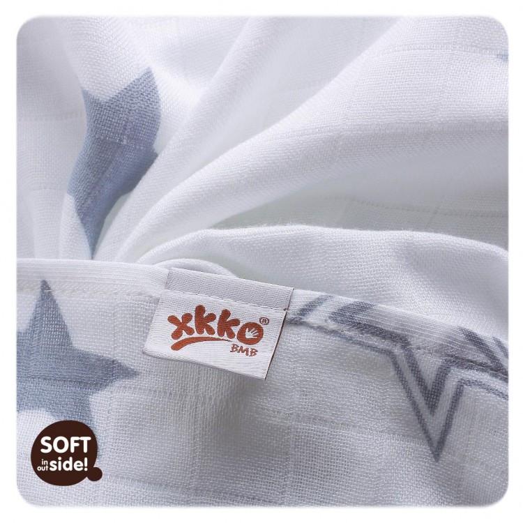 Бамбуковые пеленки XKKO® вмв коллекция Звезда 90х100