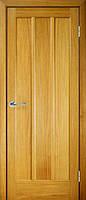 Светлая деревянная межкомнатная дверь Трояна ДГ