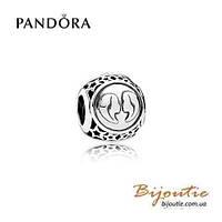 Pandora Шарм Знаки Зодиака БЛИЗНЕЦЫ №791938 серебро 925 Пандора оригинал