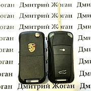 Автоключ Porsche (Порше) 2 кнопки ID 46 433MHz
