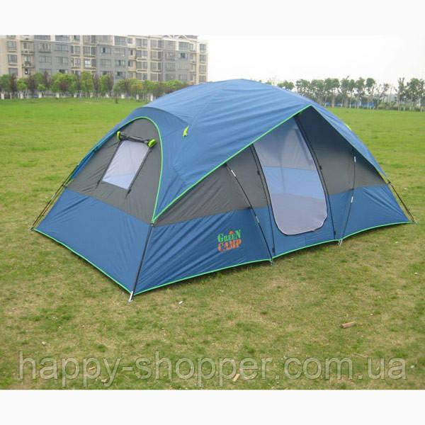 Палатка четырехместная GREEN CAMP 1100