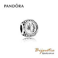 Pandora Шарм Знаки Зодиака СКОРПИОН №791943 серебро 925 Пандора оригинал