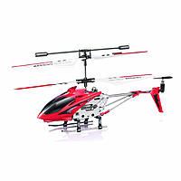SYMA Вертолет с 3-х канальным и/к управлением, светом, гироскопом ( 22 см)  в ассортименте., фото 1