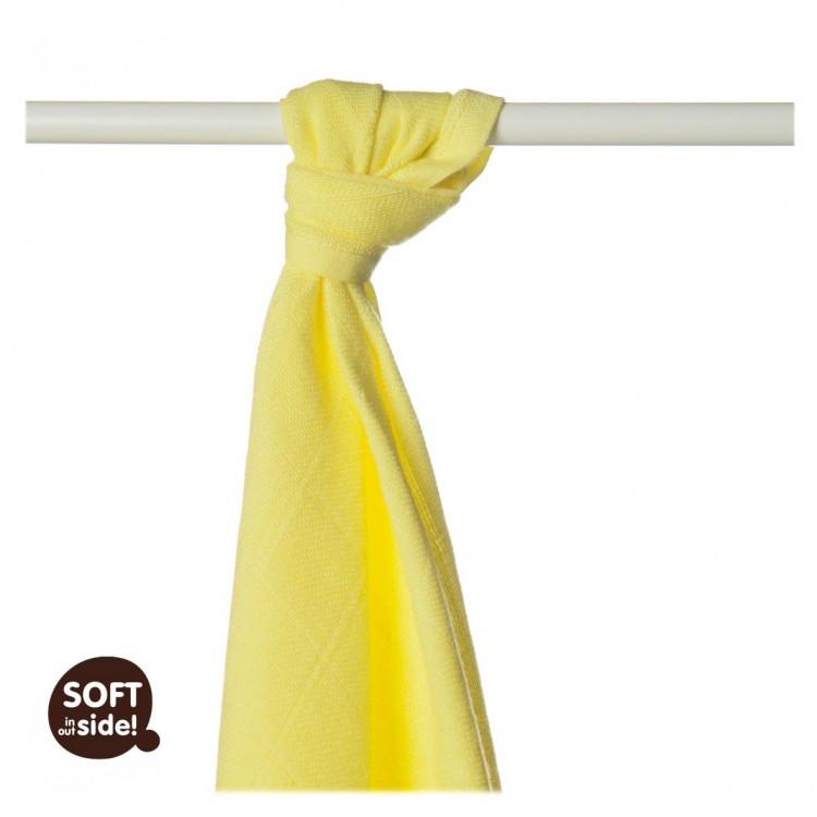Бамбуковые пеленки XKKO® вмв Цветная коллекция 90х100 лимон