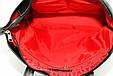 Великолепная женская сумка на каждый день, кожаная 34х33х10 VATTO Wk38 FL8Sp310 черный, фото 2