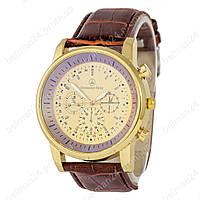 Мужские наручные часы Mercedes Benz B71 Brown/Gold