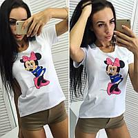 "Женская футболка ""Микки"""