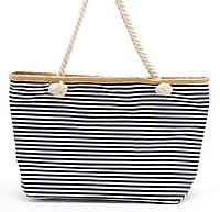 Полосатая женская пляжная сумка  Б/Н art. 9463, фото 1