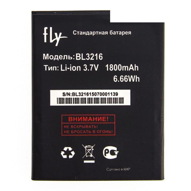 Оригинальный аккумулятор АКБ батарея Fly BL3216 / IQ4414 Quad 1700mAh