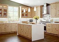 Кухня из массива сосны 001